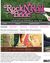 Rock N' Roll Bride