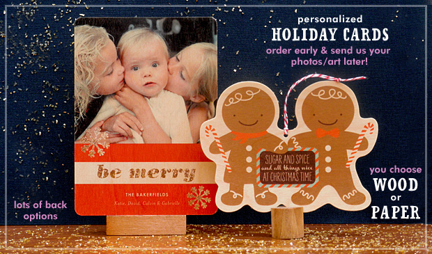 Introducing our 2014 Personalized Holiday Card Collection
