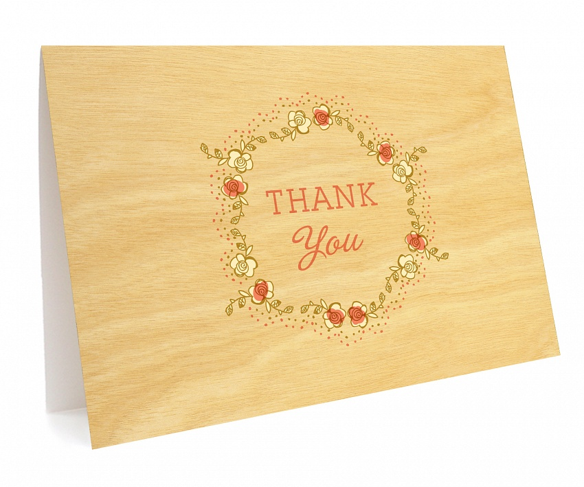 Modern Fairy Tale Folded Thank You Card Thank You Cards Wedding Night Owl Paper Goods