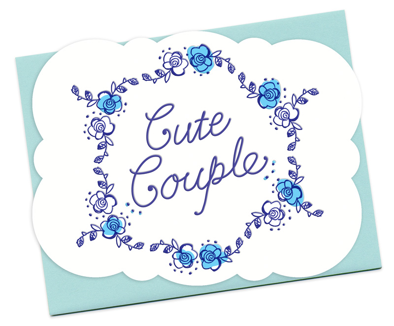 Cute Couple Congratulations Cards 171 Night Owl Paper
