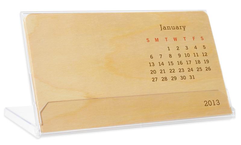 Desk Calendar 7 1 4 X 4 1 4 Custom Night Owl Paper Goods