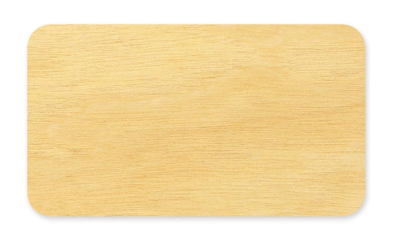 Flat Business Card Birch Cherry Or Cedar