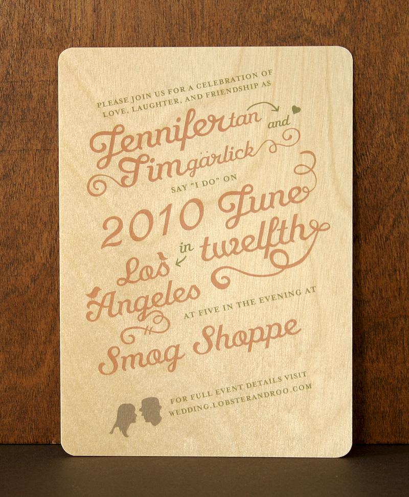 "Decorative Wedding Invitation Badge 7: (A7) 5"" X 7"" €� Custom « Night Owl Paper Goods"