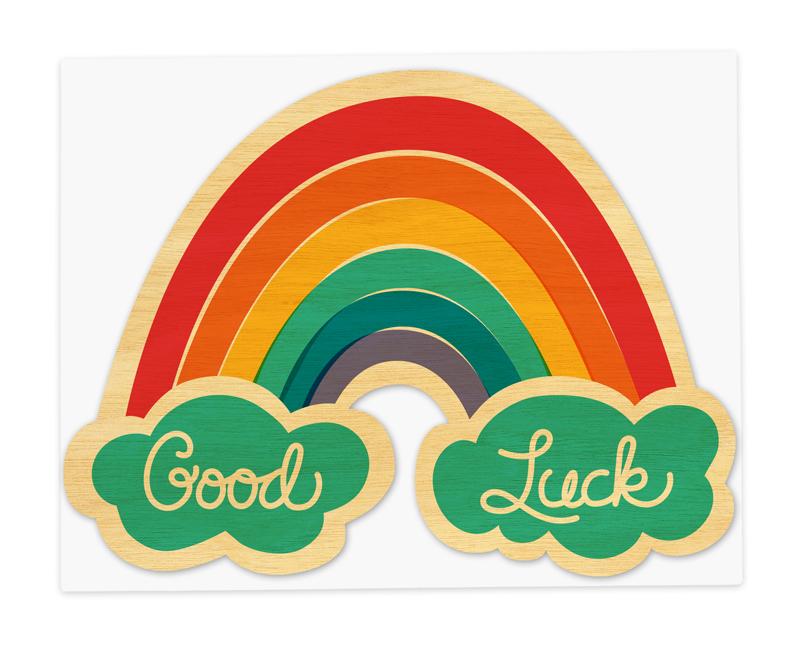 lucky rainbow  u2039 good luck  u2039 cards  u00ab night owl paper goods