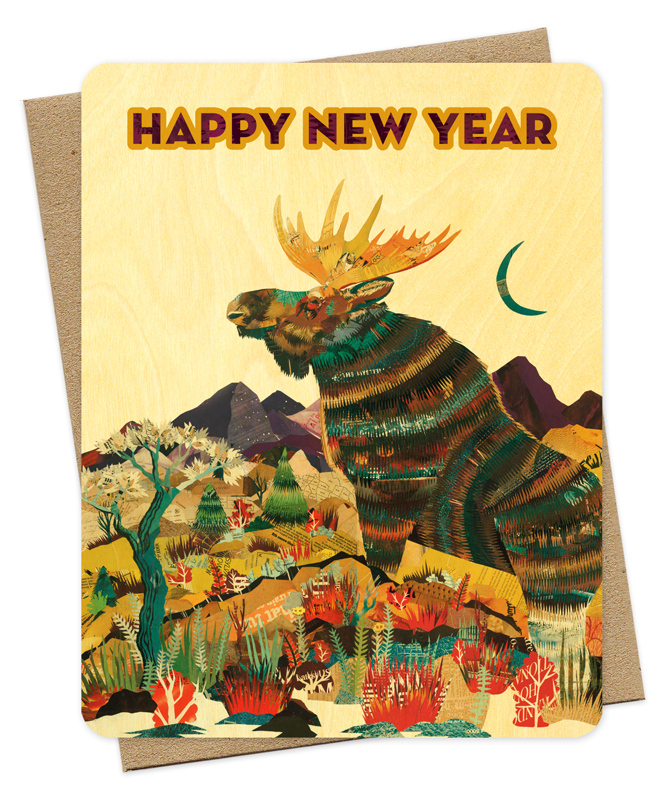 Image result for moose new year