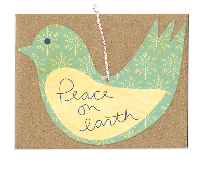 Peace Bird « Night Owl Paper Goods — Stationery & Wood Goods