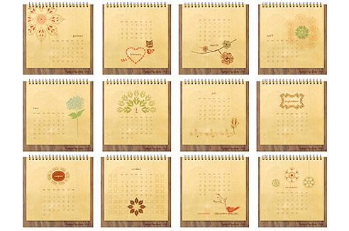 150p 2009 Calendar Round Up