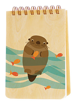 mr. water otter � jotter