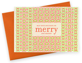 Night Owl Paper Goods | Holiday Cards | danish merry