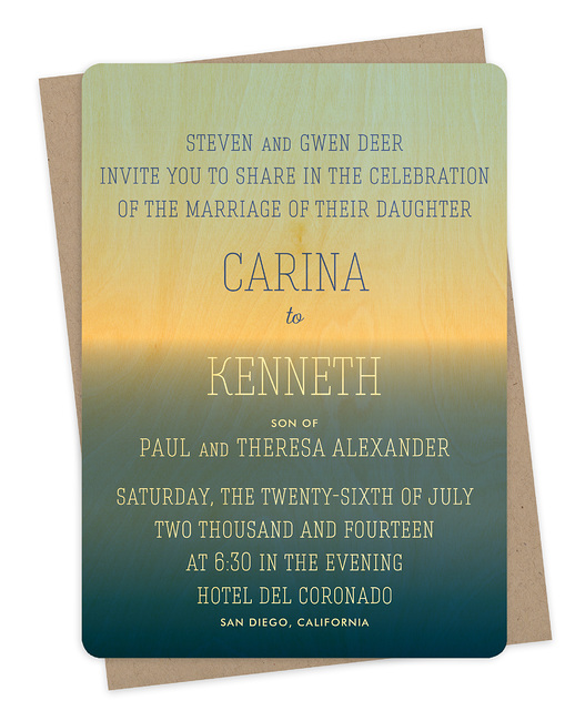 Horizon Invitation
