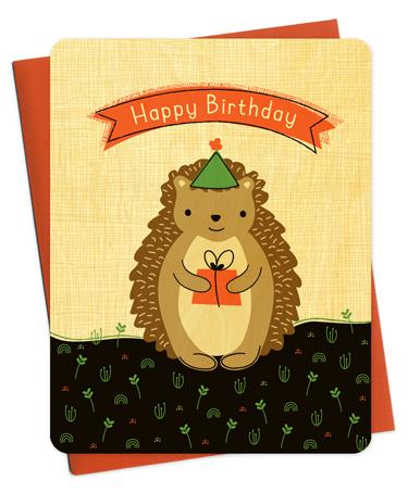 Wood Birthday Card #gift