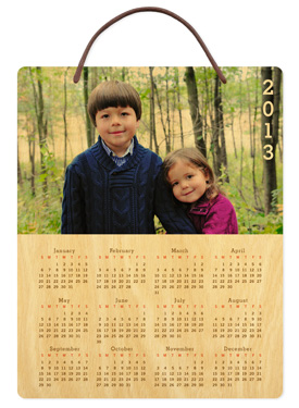Edgy � 2013 Birch Hanging Calendar