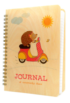 scootin' hedgehog � journal
