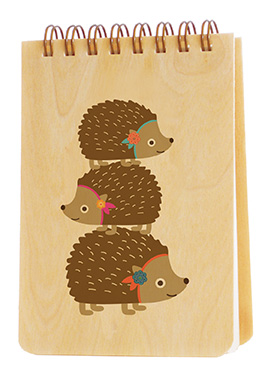 Stacked Hedgehogs - Jotter