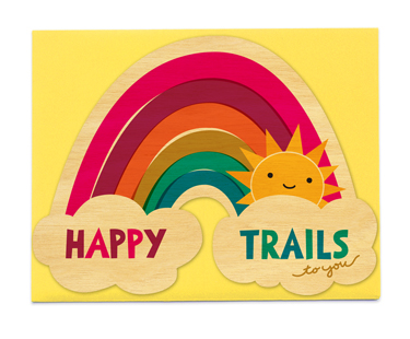 Happy Trails Congratulations Cards 171 Night Owl Paper
