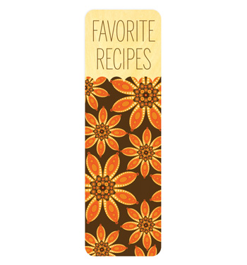 Orange Dahlias � bookmark
