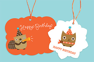Owl/Beaver Birthday
