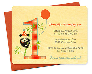party panda 1st birthday