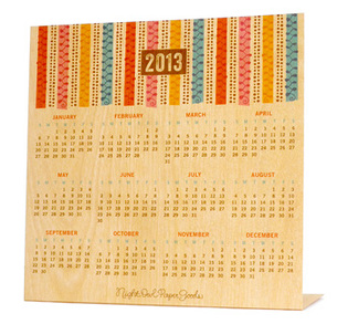 2013 colorful curls calendar