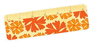 Fringy Flowers � Ruler
