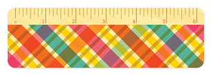Bright Madras � Ruler